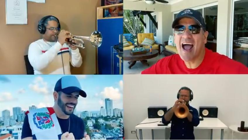 Video: Treinta y nueve artistas dominicanos se unen en nueva versión de tema «Resistiré»