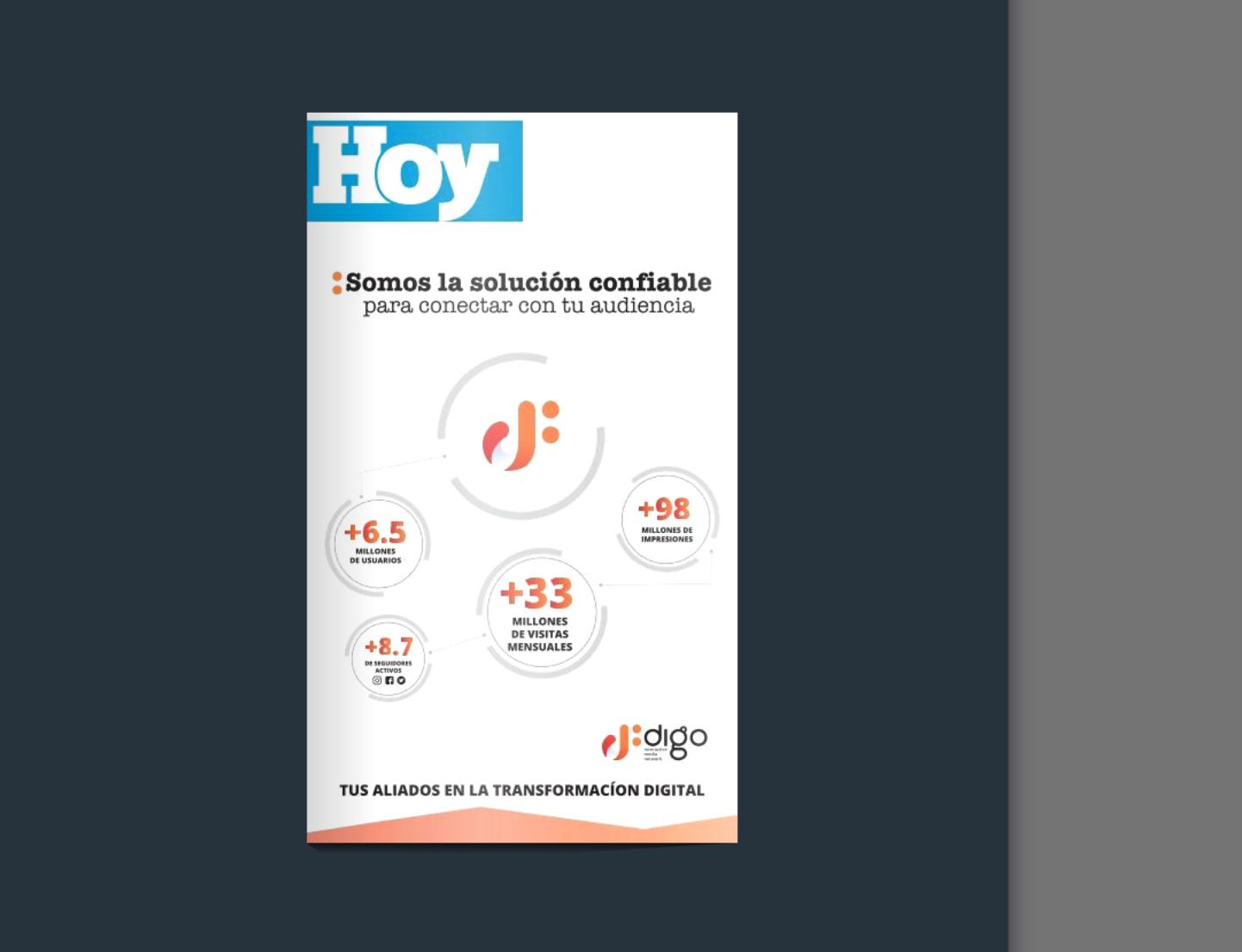 Edición impresa HOY lunes 11 de mayo del 2020
