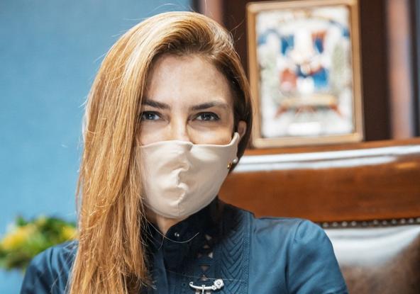 Carolina Mejía dice trabaja para que Luis Abinader haga buena gestión y pueblo vuelva a elegirlo