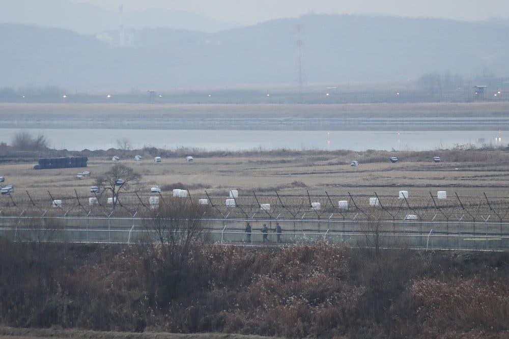 Lo que pasó hoy en frontera entre Corea del Sur y Corea del Norte