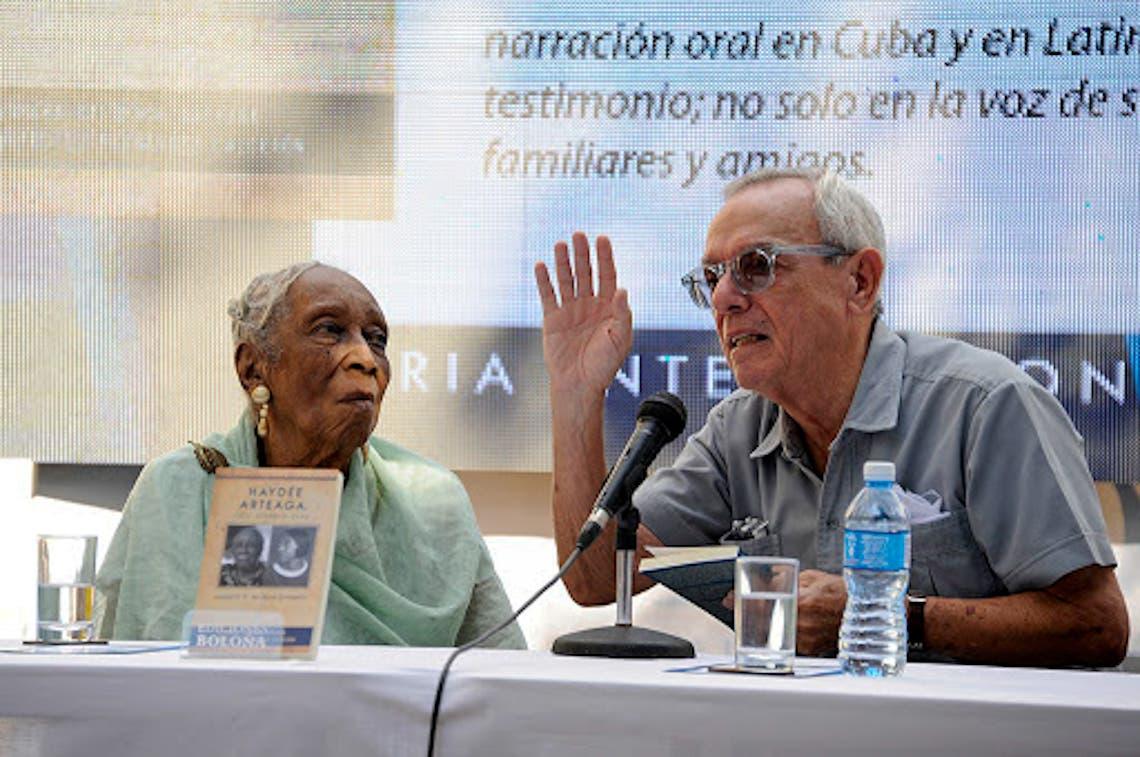 Fallece a los 105 años reconocida narradora oral Haydeé Arteaga