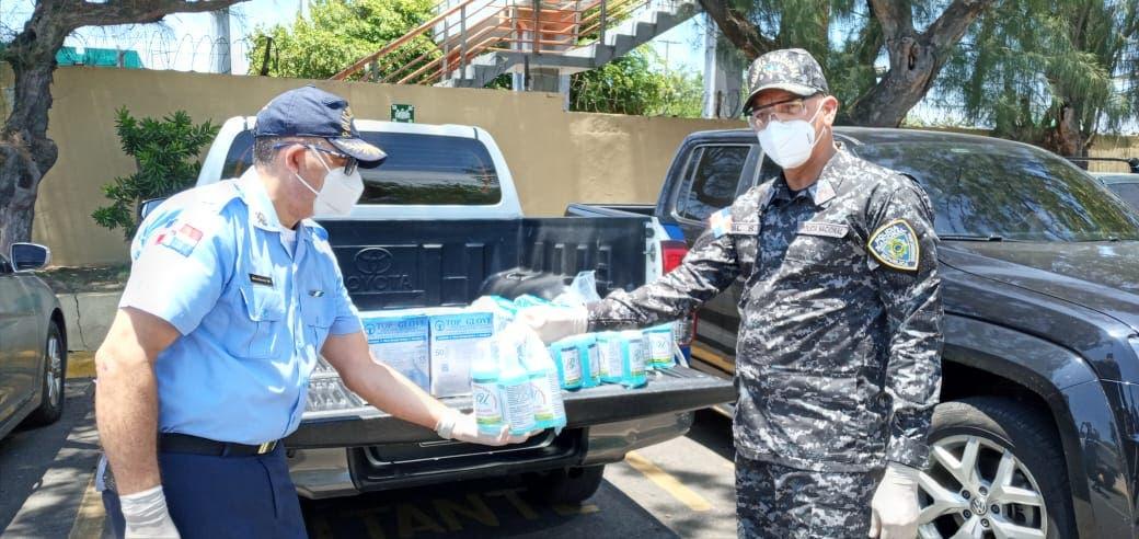 Policía Escolar dota de kits de protección a agentes y redobla medidas preventivas para evitar COVID-19