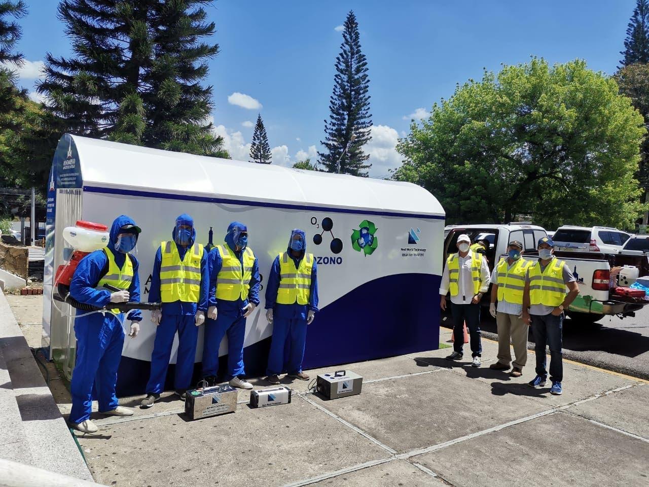 Pone a disposición de empresas túneles de sanitización ozono