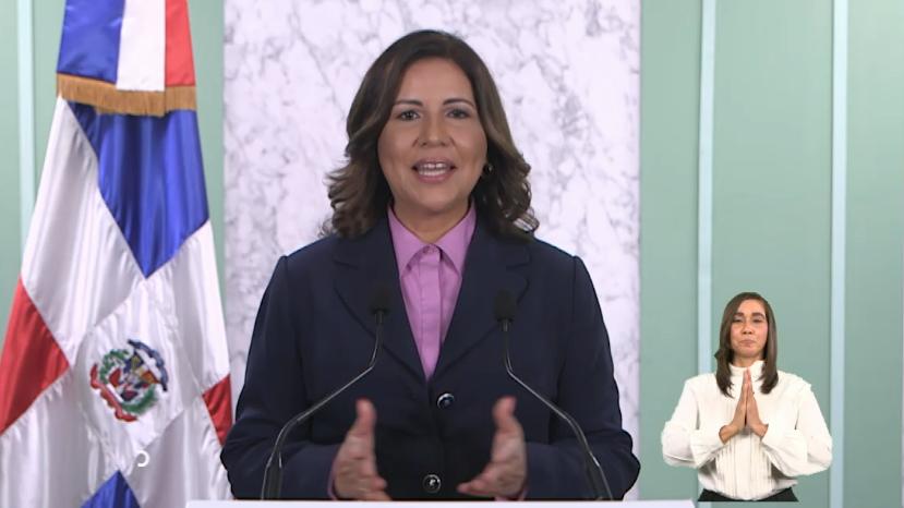 Vicepresidenta Margarita Cedeño reconoce a José Horacio Rodríguez; dice Congreso necesita ese resplandecer
