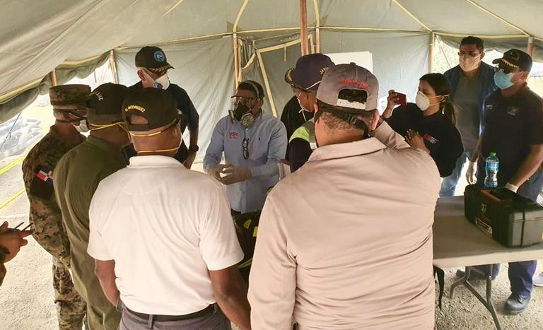 Ministro advierte incendio del vertedero de Duquesa no es producto de la casualidad