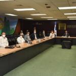 Rectores de universidades durante el encuentro con el gobernador del Banco Central.