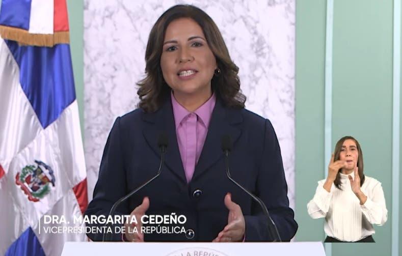 Margarita Cedeño dirige atención a «mujeres» en su tercera alocución