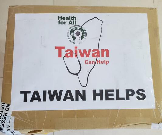 Taiwán expresa solidaridad con los dominicanos con donación de mascarillas