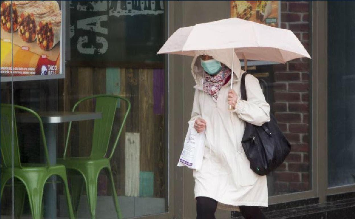 Vaguada podría provocar aguaceros este domingo