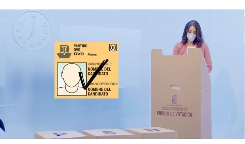 """""""Ponte tu mascarilla y vota"""", la nueva campaña educativa de la JCE para elecciones de julio"""
