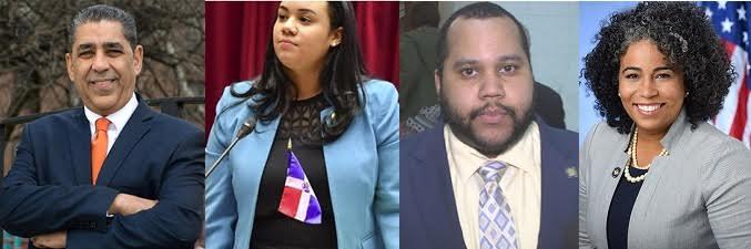 Dominicanos que resultaron electos en Nueva York durante celebración primarias