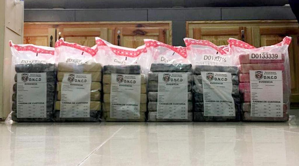 Incautan en Puerto Multimodal Caucedo contenedor que llegó de Alemania con 253 paquetes de cocaína