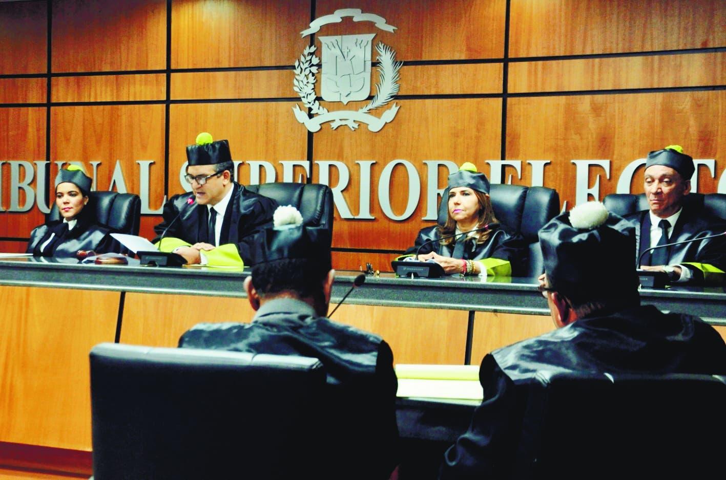 Tribunal Superior Electoral no admite acciones de amparo de candidatos a diputados contra JCE y de SDE