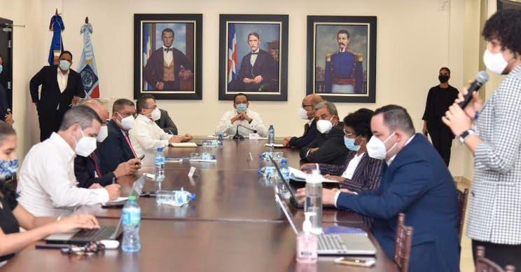 Peña Mirabal encabeza segunda reunión sobre conformación Gabinete Ministerial