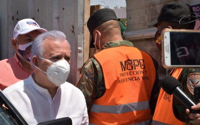 Militarizan Parque del Este ante visita del aspirante a senador Antonio Taveras