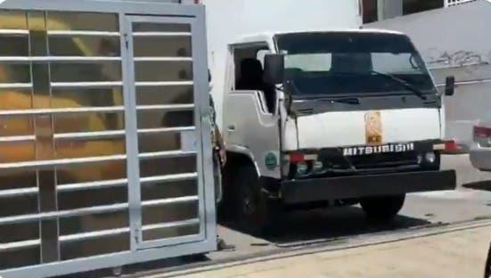 JCE aclara camión entró a comando Gonzalo Castillo no es oficial de la institución