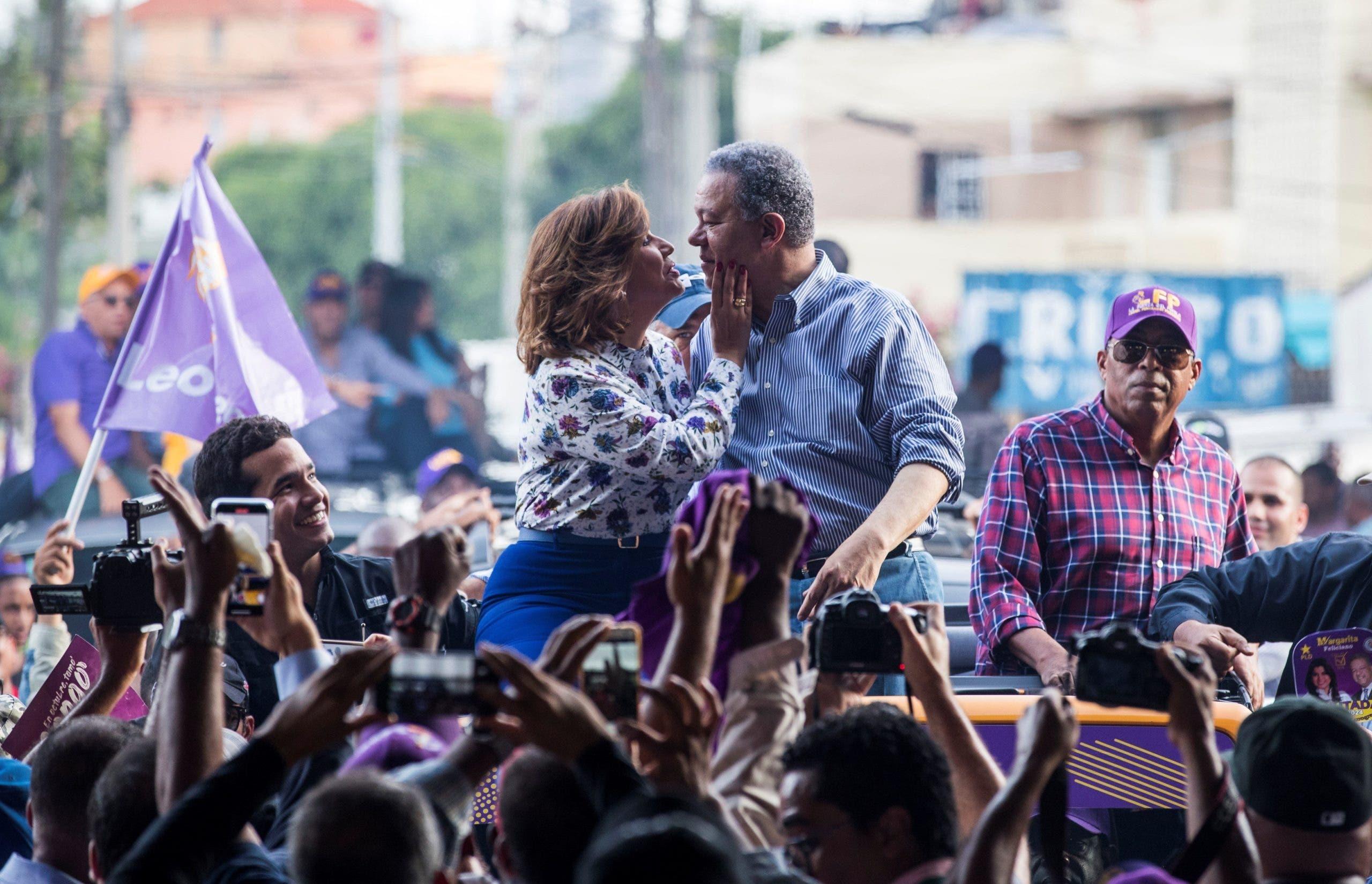 Leonel Fernández y Margarita Cedeño, casados y separados en las urnas dominicanas