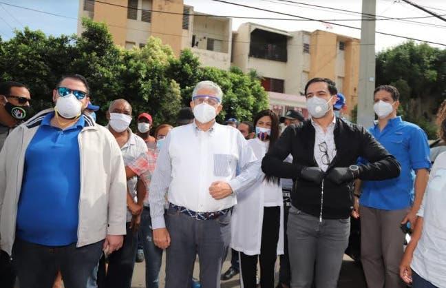 Realizan operativos de desinfección y asistencia contra el COVID-19