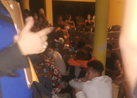 Frustran fiesta clandestina en Sabana Perdida por violar toque de queda