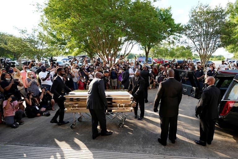 EN VIVO: George Floyd es sepultado en Houston tras seis días de funerales y ceremonias