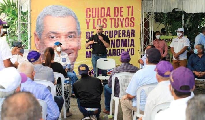 Gonzalo Castillo: Desde hace 45 días el PLD está por encima del partido opositor