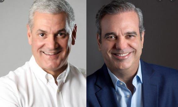 Encuesta: Gonzalo Castillo 45.1%, Luis Abinader 41.7%, Leonel Fernández 9.8 % y Guillermo Moreno 1.8%