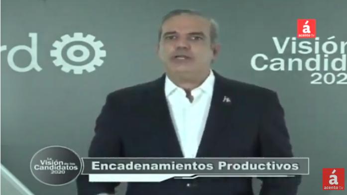 Luis Abinader promete crear 600 mil empleos en 4 años