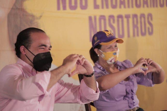 VIDEO: Así fue el recorrido de Margarita Cedeño por La Altagracia