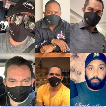 Celebridades crean conciencia del uso de las mascarillas con Calpo Atelier