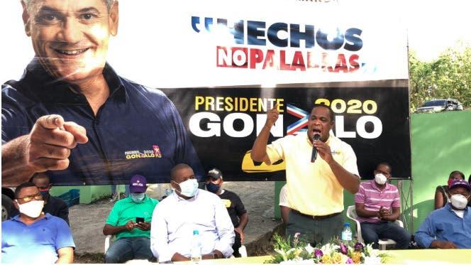 Grupo de dirigentes  PRM y la Fuerza del Pueblo respaldan a Gonzalo Castillo