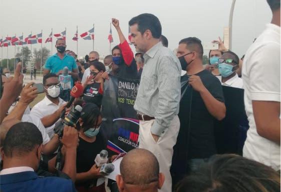 Video: Vea aquí cómo va la protesta en la Plaza de la Bandera
