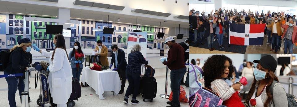 Repatrian en tres vuelos desde Nueva York cientos de dominicanos