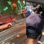 Saqueo, incendios y tiros en El Bronx