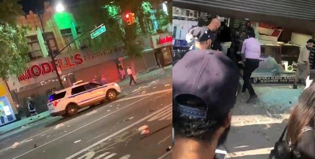 George Floyd:  Incendios, tiros y saqueos a comercios en El Bronx