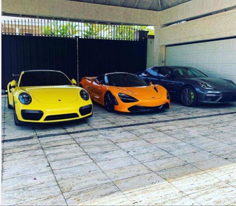 FOTOS: Helicópteros, Porsches, Ferraris y cantidad indeterminada de dinero incauta la Fiscalía a esposo de candidata a diputada PRM
