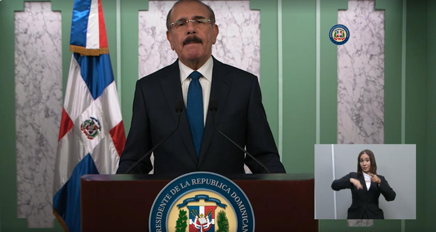 Danilo Medina extiende programas FASE, «Quédate en Casa» y «Pa´ti» hasta el 16 de agosto