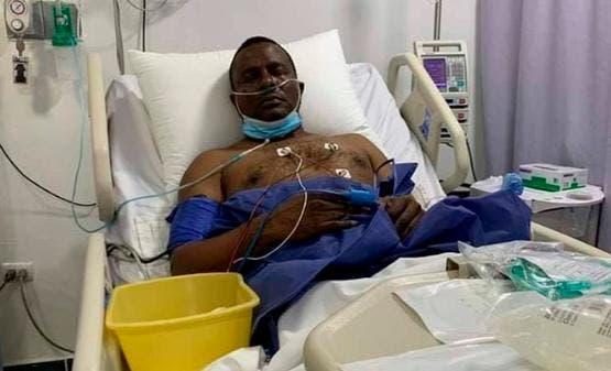 Sin respirador, pero aún con fiebre alta continúa Félix Victorino