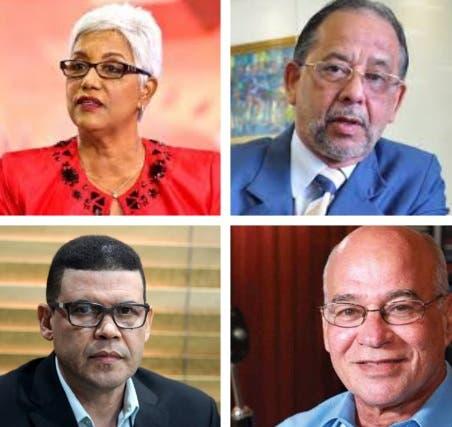 Advertencia de Altagracia Salazar, Huchi Lora, Ricardo Nieves y Ramón Colombo a Luis Abinader