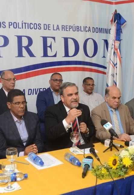 Foppredom pide a JCE sume  votos