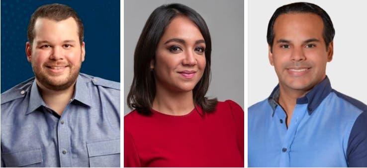 Faride Raful, Vásquez Peña y Jorge Villegas advierten no dejarán quiten diputación al PRM en la C1 del DN