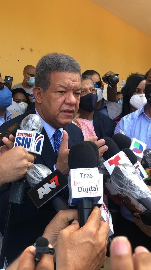 Leonel Fernández: «Hasta ahora no podemos decir que hemos sido hackeado»
