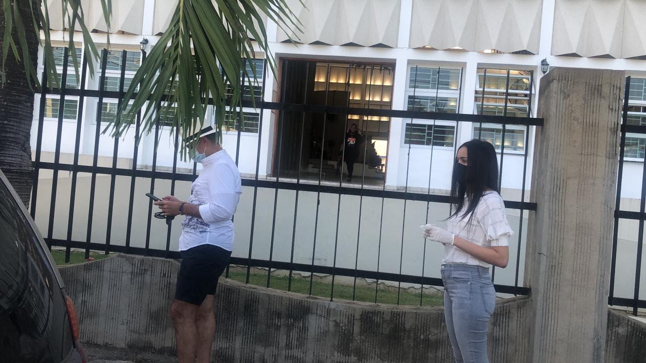 Fotos: Colegio Agustiniano de La Vega cumple distanciamiento físico