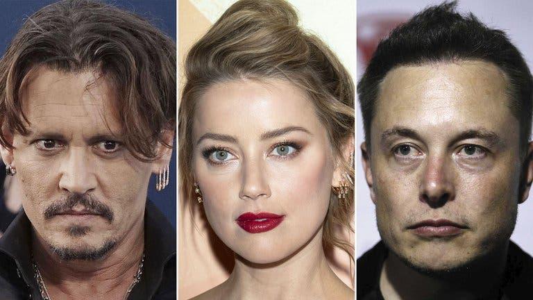 Elon Musk desafió a Johnny Depp tras ser acusado por el actor de tener aventura con Amber Heard