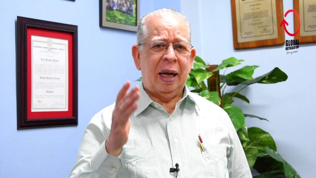 Presidente del Consejo Nacional de Iglesias  llama a votar por Rafael Paz