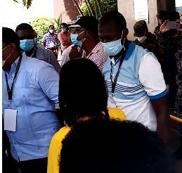 Reacción de Junta Electoral  DN tras  conflicto entre representantes partidos
