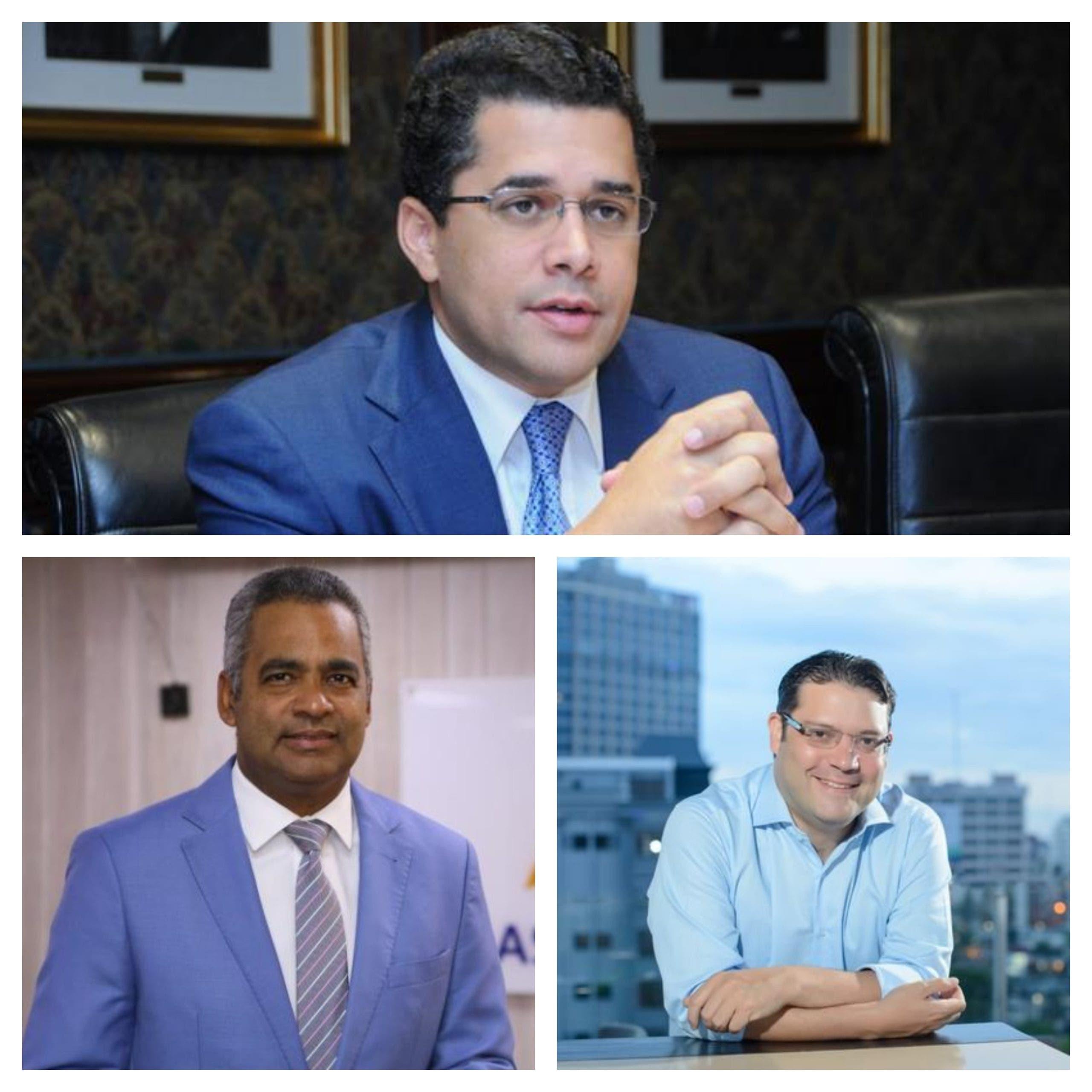 Abinader anunciará hoy su ministro de Turismo: Sanz Lovaton, Joel Santos o David Collado