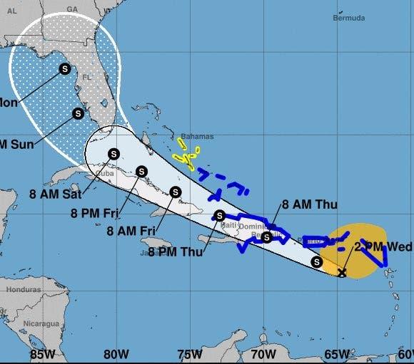 COE eleva a 26 las provincias en alerta ante paso de potencial ciclón tropical