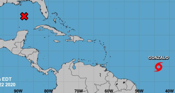 La tormenta tropical Gonzalo ¿Impactará la República Dominicana?