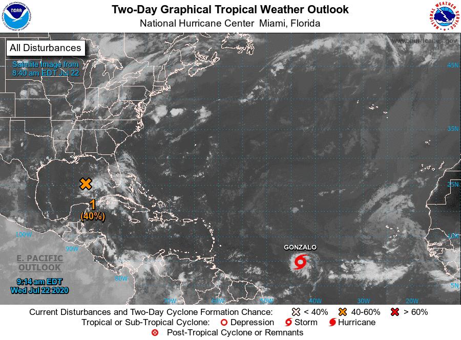 Se forma en el Atlántico la tormenta tropical Gonzalo y esto es lo que tienes que saber