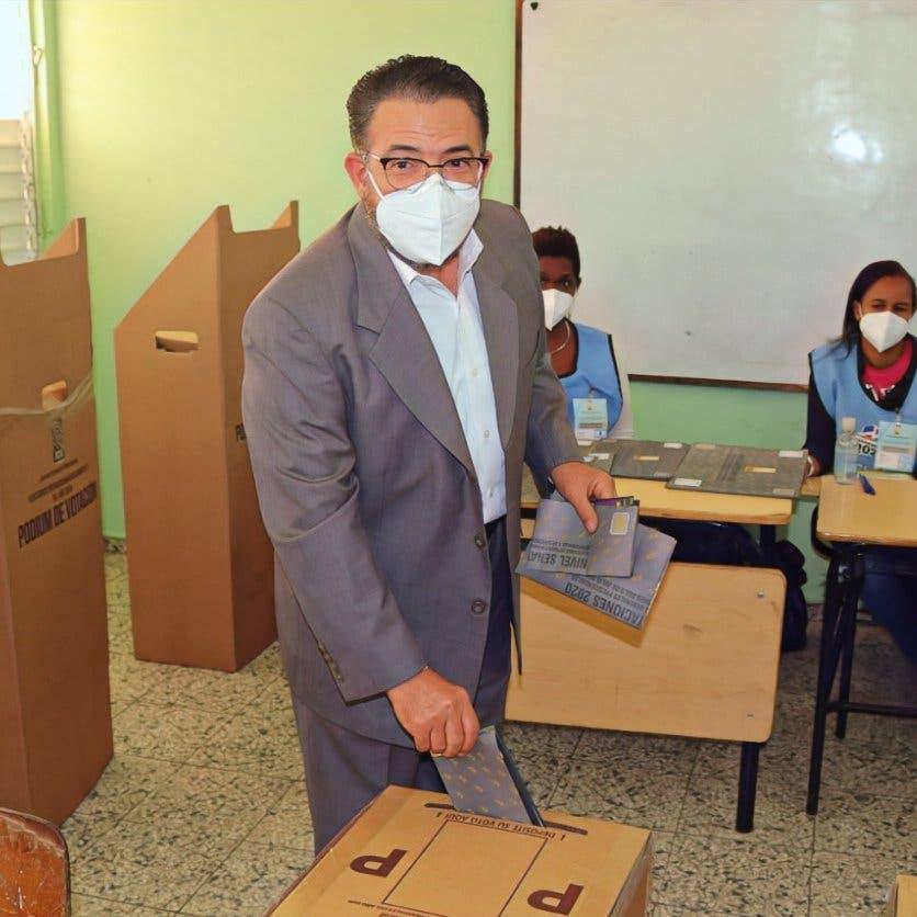 VIDEO: Guillermo Moreno ya votó